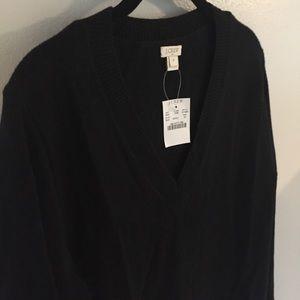 NWT J.Crew Factory V-Neck Sweater Dress